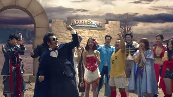 Blizzard's Korean Hearthstone ad
