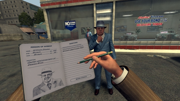 LA Noire VR Case Files interview