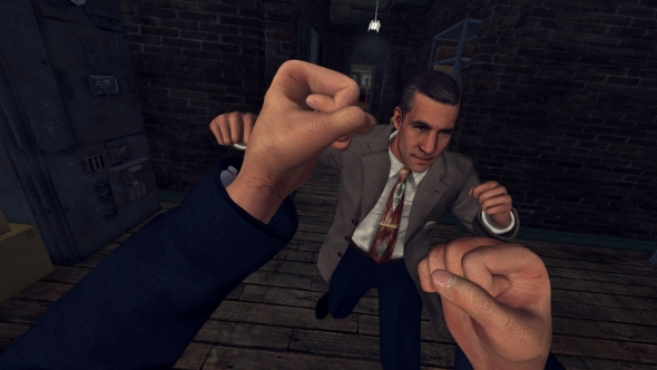 LA Noire VR Case Files fist fight