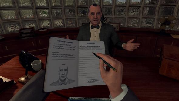 LA Noire VR Case Files interview