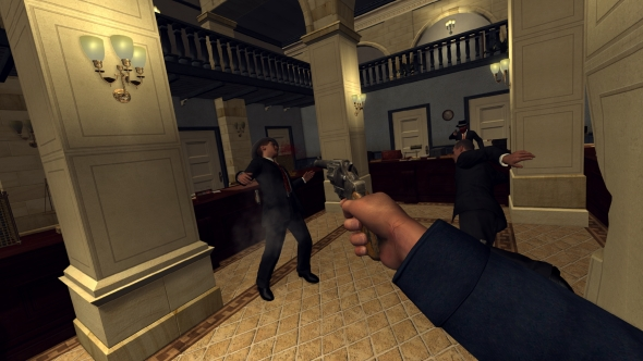 LA Noire VR Case Files gunfight
