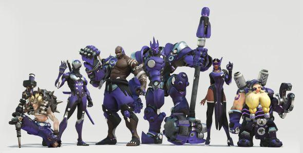 LA Gladiators team skins