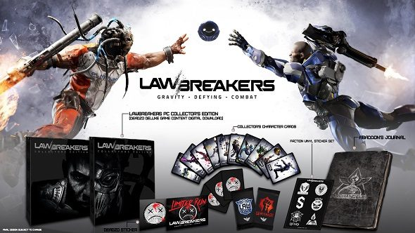 LawBreakers Collector's Edition Revealed