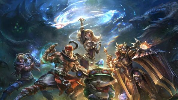 League of Legends launching in Japan; world dominance almost complete