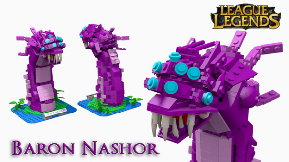 League of Legends fan submits designs for Lego champions and minions