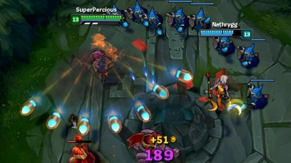 League of Legends coaching Annie dash blast