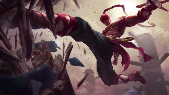 Strongest lol champs 6.18 Lee Sin