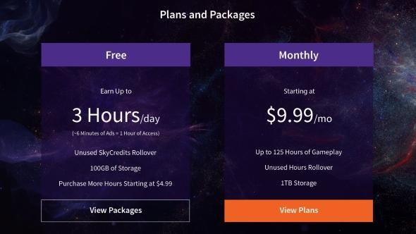 LiquidSky free plan