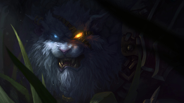 League of Legends teases Rengar, a scraggly lion man