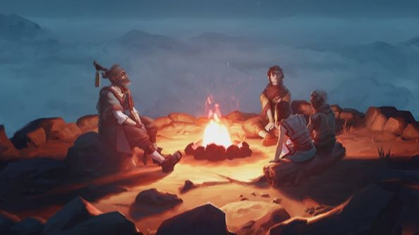 League of Legends champion preview teases bard character with a stary campfire tale
