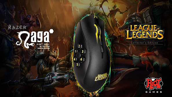 Razer launch League of Legends branded peripherals