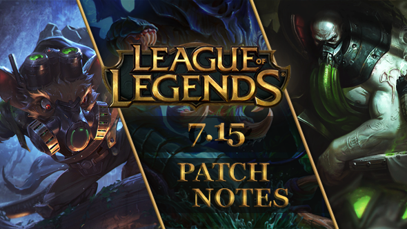 League of Legends patch 7.15: Urgot and his exploding knees