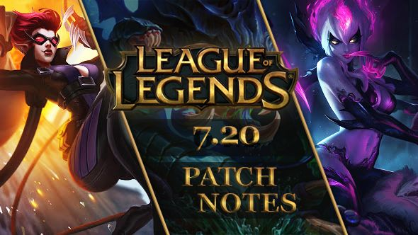 League Of Legends Patch 720 Evelynn Rework And Super Galaxy Skins