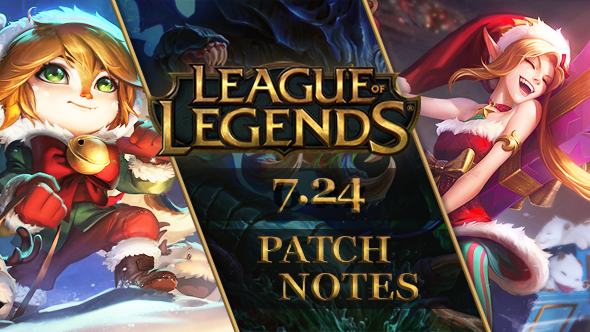 League of Legends Patch 7.24: Christmas is coming to the Rift