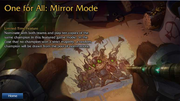 Mirror Mode explained