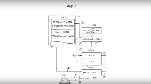 Loading screen patent