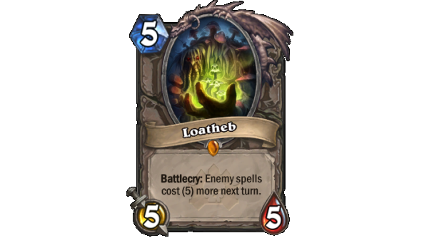 Best Hearthstone Legendary cards Loatheb