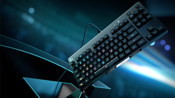Logitech Spotlight: the pro gaming keyboard by the numbers