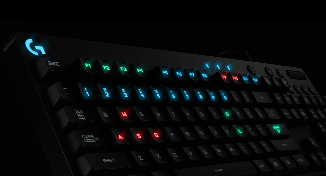 Logitech Spotlight: get world-class gaming performance with the G810 mechanical keyboard