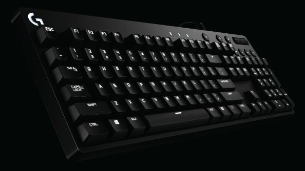 Logitech mechanical keyboards