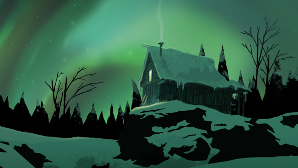 Long Dark preview - safe house in snow