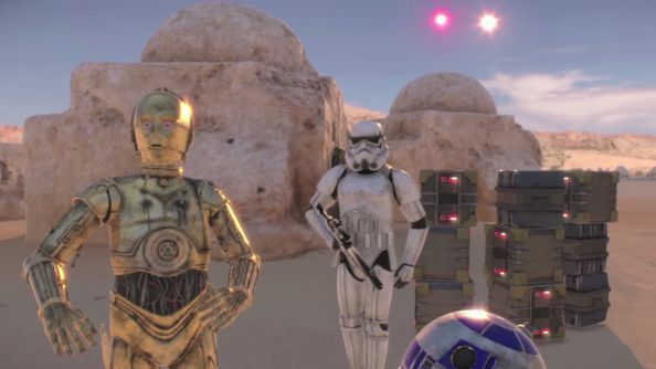 LucasArts is creating some exciting stuff with VR thanks to their ILM Experience Lab