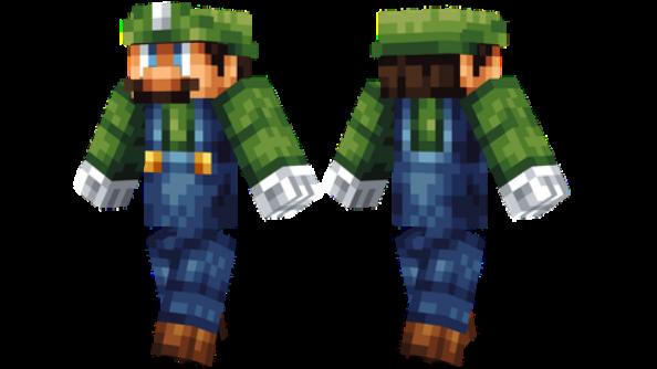 best minecraft skins Luigi