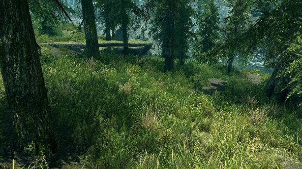 Skyrim Lush Grass mod