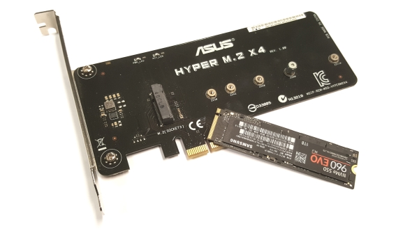 PCIe SSD adapter