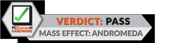 Mass Effect Andromeda PC tech review verdict