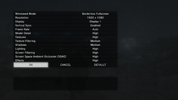 Whats A Bit Peculiar About Ground Zeroes Graphics Options Is That The List Looks Lot Smaller Than It Actually Take Screen Filtering For Instance