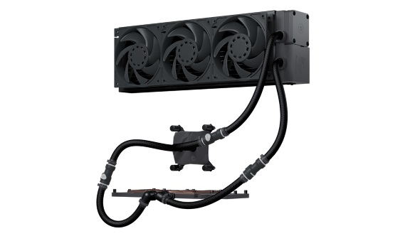 Not quite a custom loop nor is it an all-in-one cooler