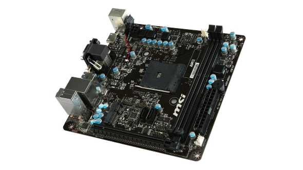 PC vs PS4 Pro motherboard