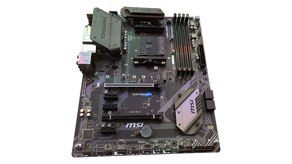 Cheap AMD B450 motherboards will be on the shelves by the