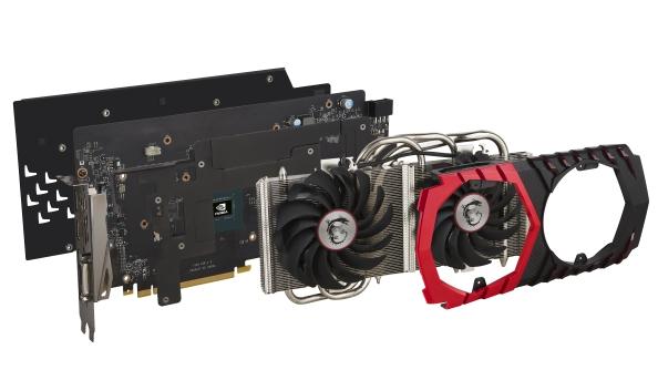 MSI GTX 1060 Gaming X temperature