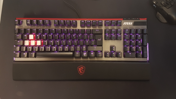 MSI Vigor GK80 review: a gaming keyboard with solid