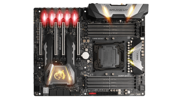 MSI X299 Gaming M7 ACK performance