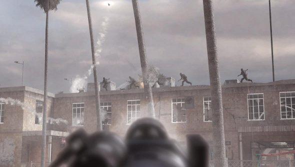 Modern Warfare 2 shooting
