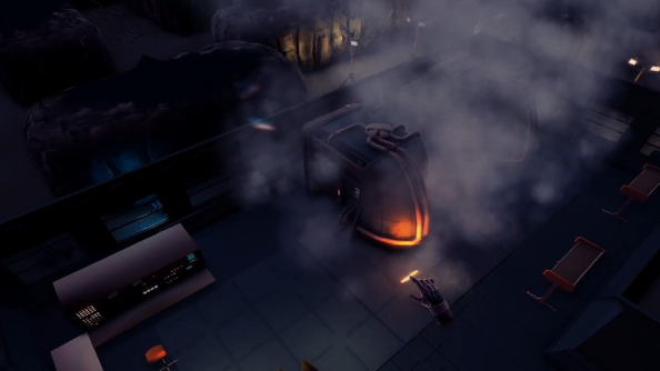 Maia test video shows off game engine, dripping noises, intimidating drone