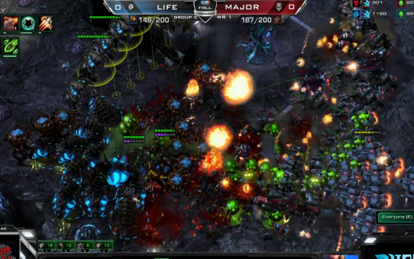 MLG StarCraft 2 Fall Championship Day 1: Scarlett's creep dominates Bomber and Flash takes down confident Grubby