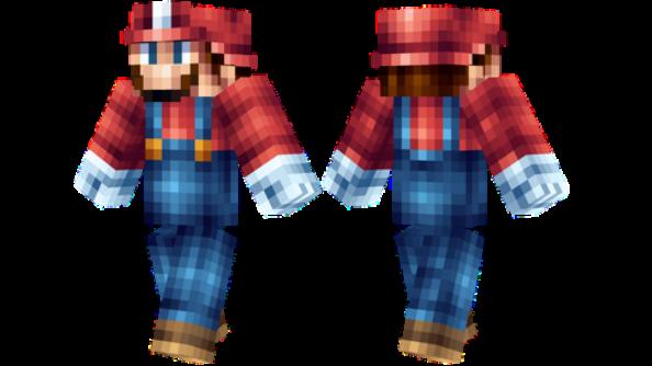 best minecraft skins Mario