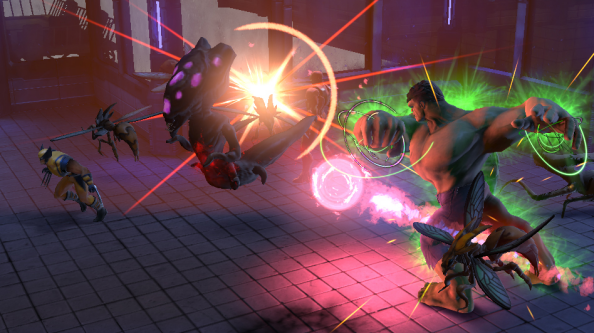 Marvel Heroes preview: superheroes supercharged