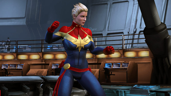 Marvel Heroes 2016 Captain Marvel