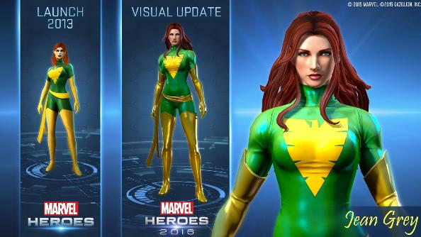 Marvel Heroes 2016 update
