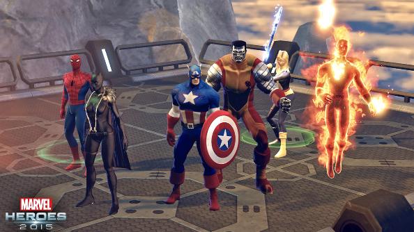 Marvel Heroes 2015 David Brevik Gazillion