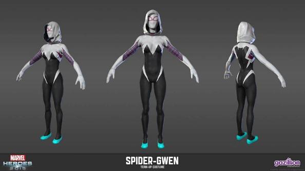 Marvel Heroes 2016 Spider-Gwen