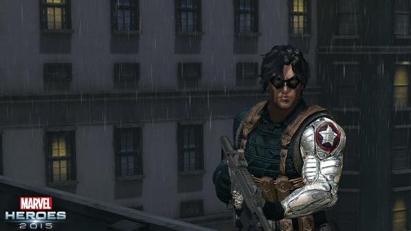 Marvel Heroes 2015 Winter Soldier