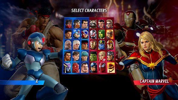 Marvel vs Capcom Infinite Play Anywhere