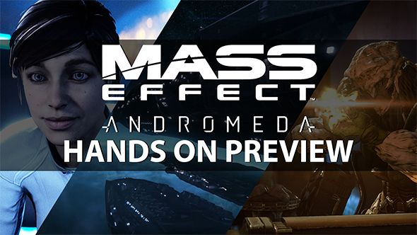 Realising the space opera: we go hands-on with Mass Effect: Andromeda