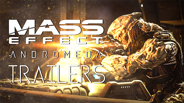Mass Effect: Andromeda trailers